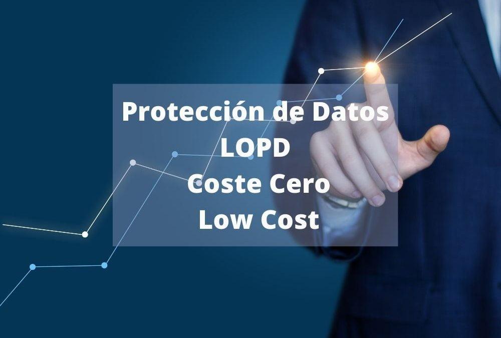 ADECUACION A LA PROTECCIÓN DE DATOS A COSTE CERO, ¡NO LO ACEPTES!